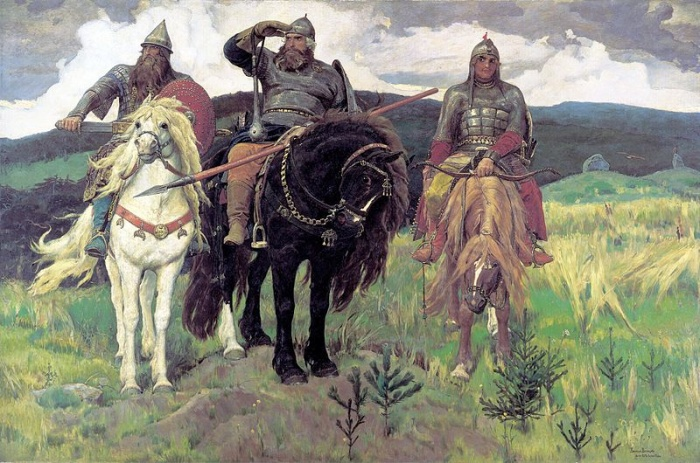 В. М. Васнецов. Богатыри.Фото: commons.wikimedia.org/public domain