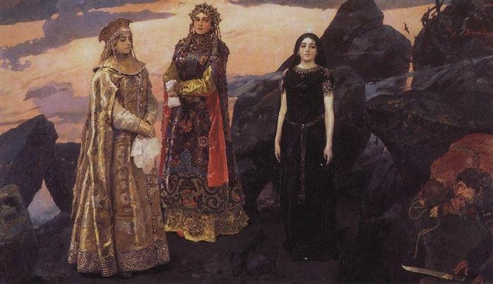 В. М. Васнецов. Три царевны подземного царства.Фото: commons.wikimedia.org/public domain