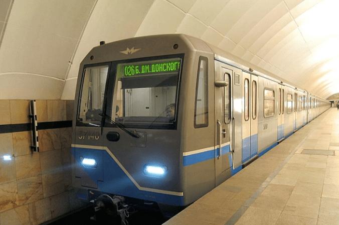 метро поезд