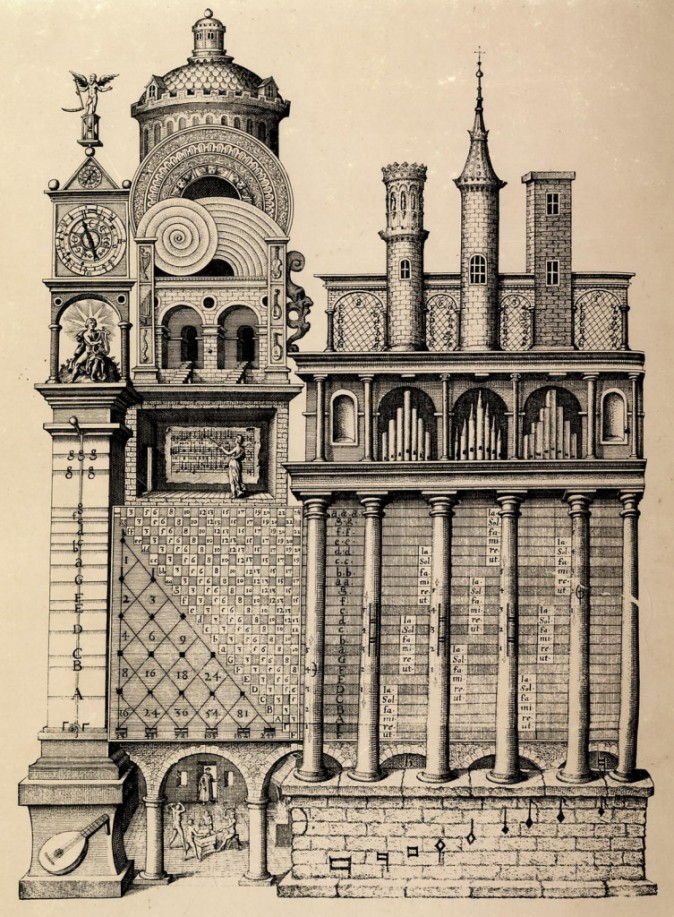 Изображение храма музыки. Фото: Public Domain