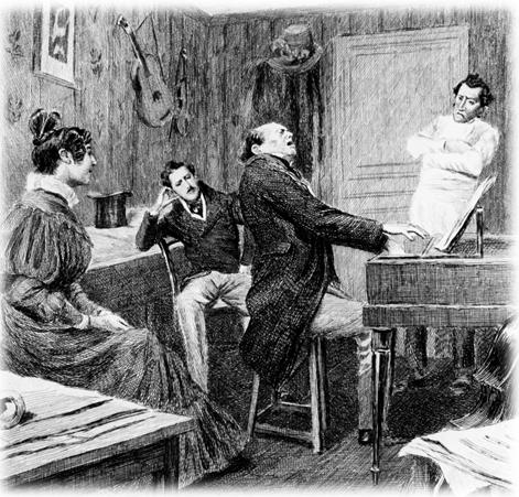 Иллюстрация Пьера Видаля из книги «Человеческая комедия: философские и аналитические исследования», том IV, 1899 г. Фото: Public Domain