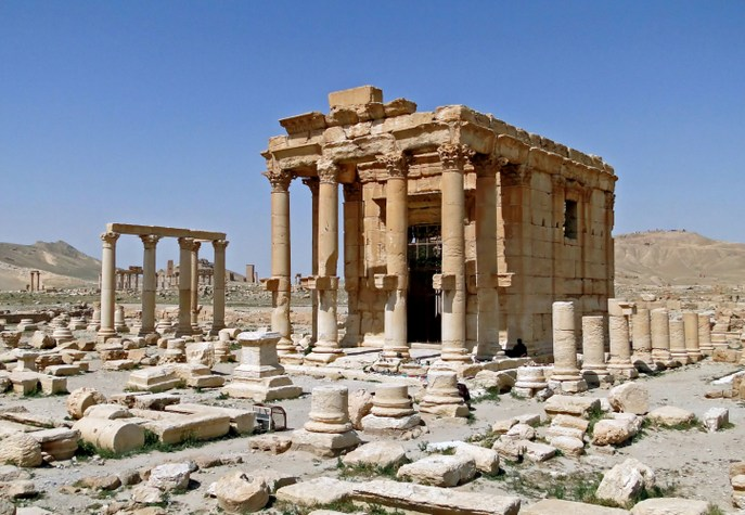 Храм Баалшамина до взрыва. Фото: Bernard Gagnon/wikipedia.org/CC BY-SA 3.0
