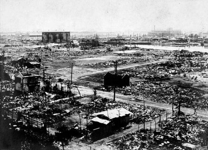 Город Йокогама был практически полностью разрушен землетрясением в 1923 году. Фото: wikipedia.org/public domain