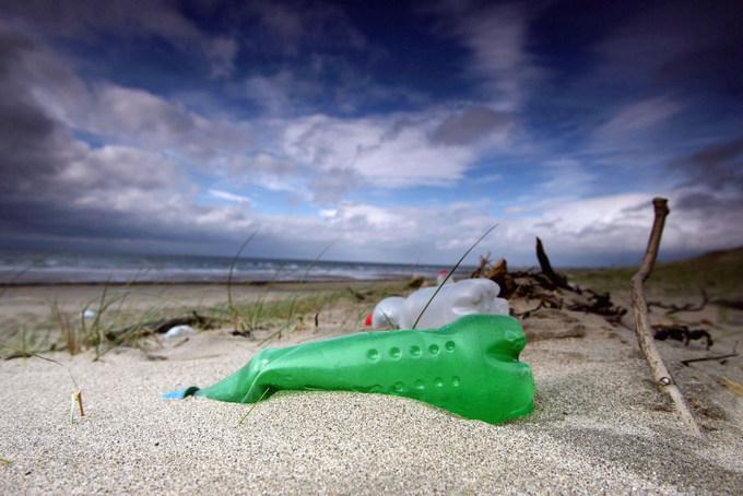 пластик, загрязнение океана