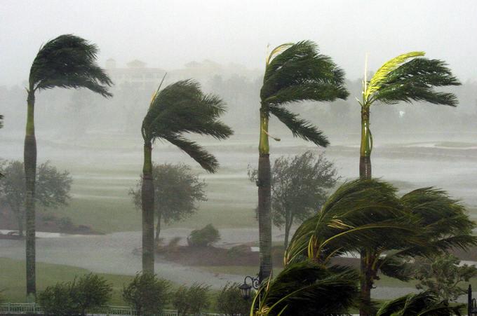 Ураганы и штормы могут стать частым явлением. Фото: STAN HONDA/AFP/Getty Images