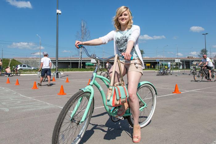 Лена Кирсанова, участница Велопарада 2016 в Рязани. Фото: Сергей Лучезарный/Великая Эпоха