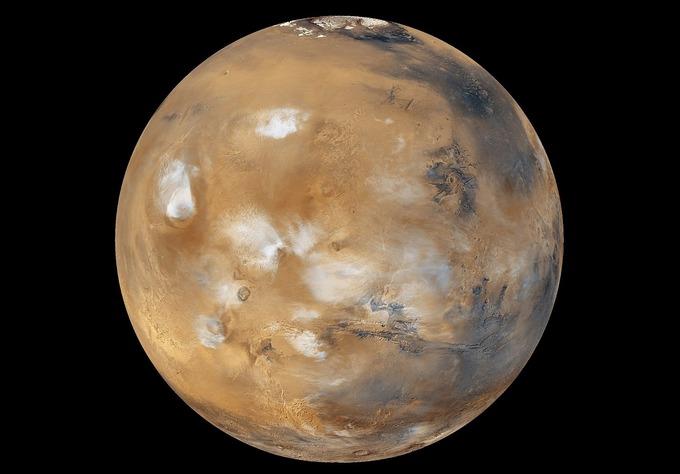 По мнению некоторых учёных, Марс всегда был безжизненной пустыней. Фото: NASA
