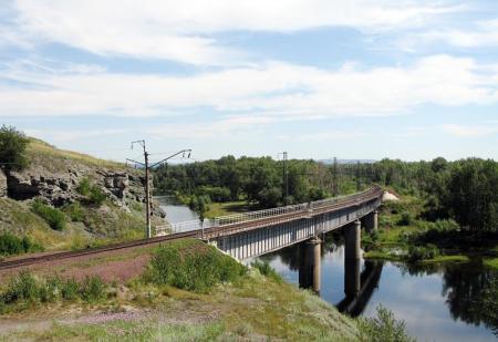 мост через Минусинскую протоку