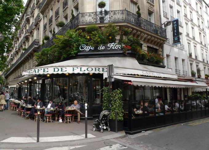 Парижские уличные кафе сохранили за собой право курения. Фото: sanfamedia.com/flickr.com/CC BY-ND 2.0