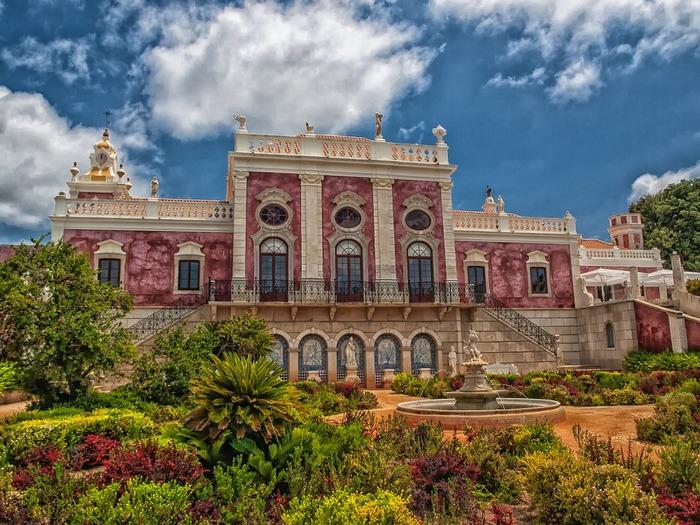 Дворец Эштой, Португалия. Фото: tpsdave/pixabay.com/CC0 Public Domain