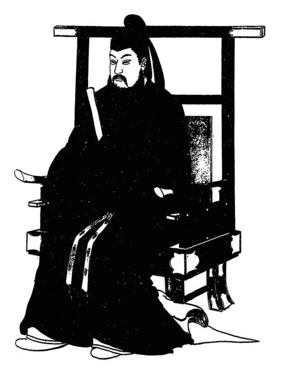Тенцзи, 38-й император Японии, правивший два поколения спустя после Котоку. Фото: Tokyo Zoka-kan/Public Domain
