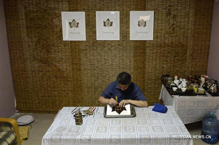 Китайский художник Чэн Лимин. Фото: Фэн Дапэн/Синьхуа