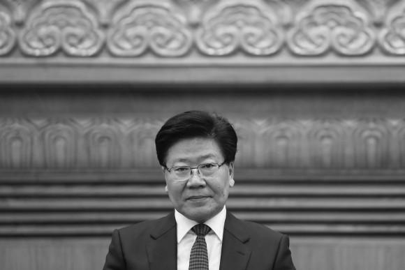Бывший партийный секретарь Синьцзяна Чжан Чуньсянь. Фото: Lintao Zhang/Getty Images