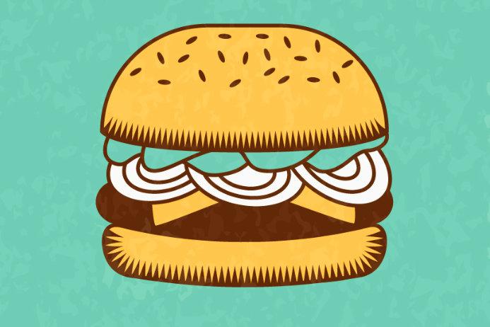 бургер, фастфуд