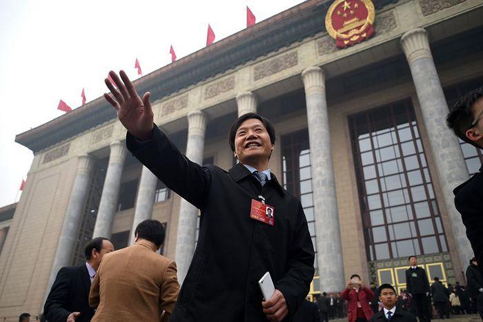 Генеральный директор компании Xiaomi Лей Цзюнь. Фото: WANG ZHAO/AFP/Getty Images