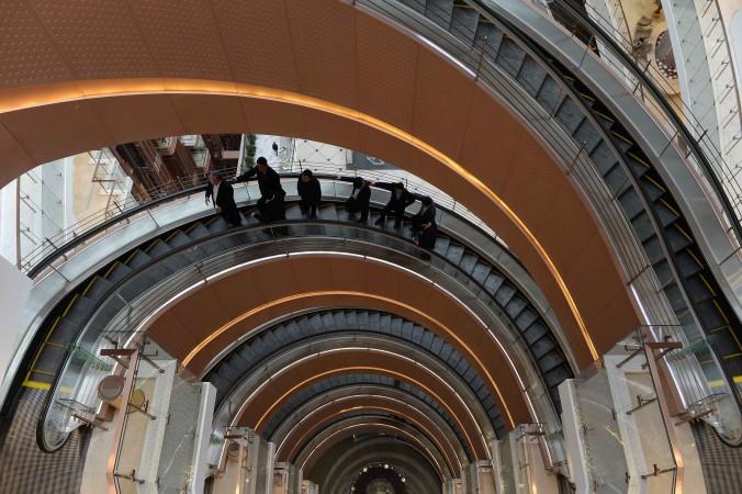Спиральный лифт