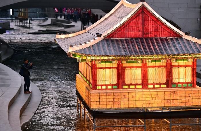 Сеул в канун праздника Юаньсяо. Фото: JUNG YEON-JE/AFP/Getty Images