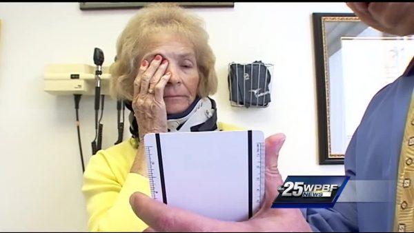 женщина, аварие, зрение, операция