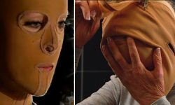 женщина, маска