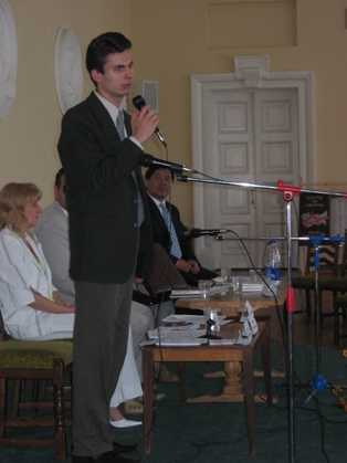Ведущий форума Антон Прима