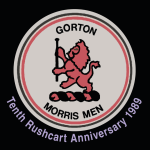 Gorton Rushcart 10th Anniversary CD Cover