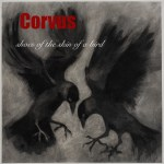 Shoes of the skin of a bird- Corvus