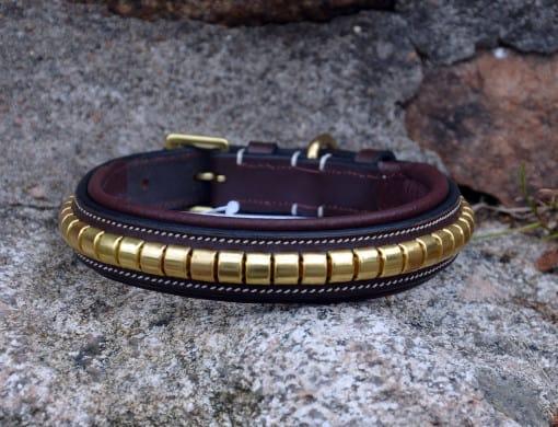 Genuine leather collar - Clincher