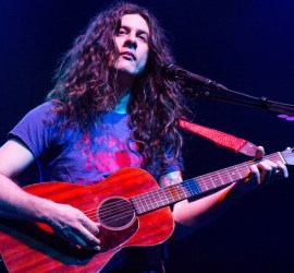 Kurt Vile performing at the Riviera Theatre in Chicago on Dec. 22, 2018