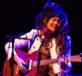Valerie June performing at Chicago's Park West on April 22, 2019