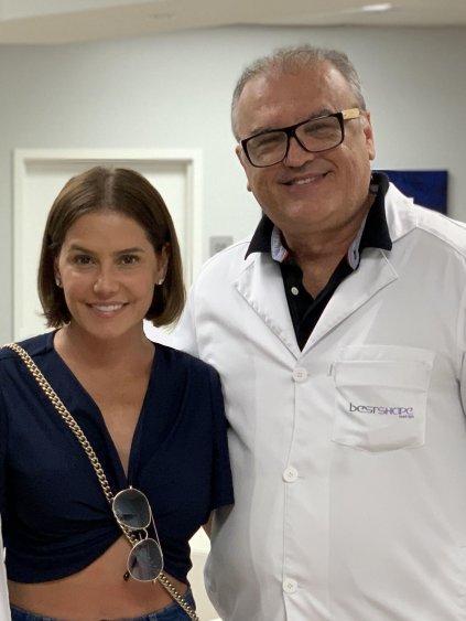 Dr Edson Ramuth e Deborah Secco