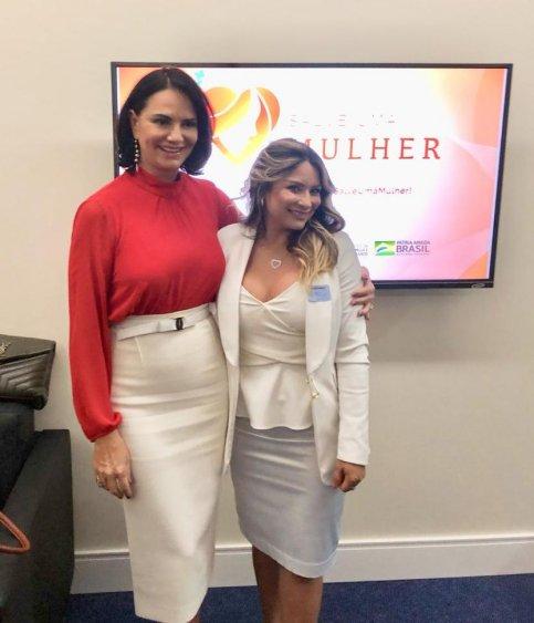 Luiza Brunet e Mônica Aguirre