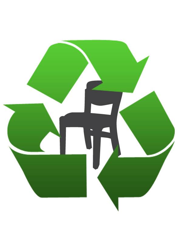 eco contribution au recyclage du mobilier de bureau