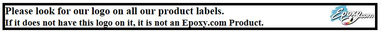 Be sure the Epoxy.com Lable is on your product.