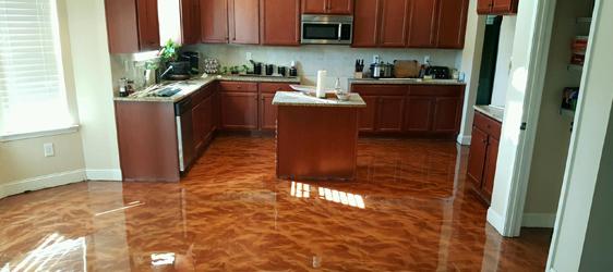 Colored Epoxy Floor