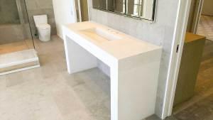 Concrete bath vanity Vero Beach