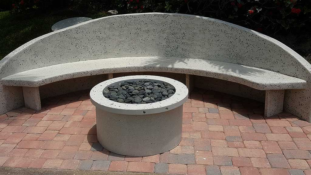 Vero Beach Concrete Fire Pits 2