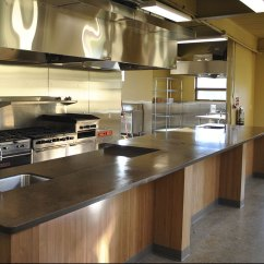 Commercial Kitchen Flooring Round Islands Epoxy Wood Floors