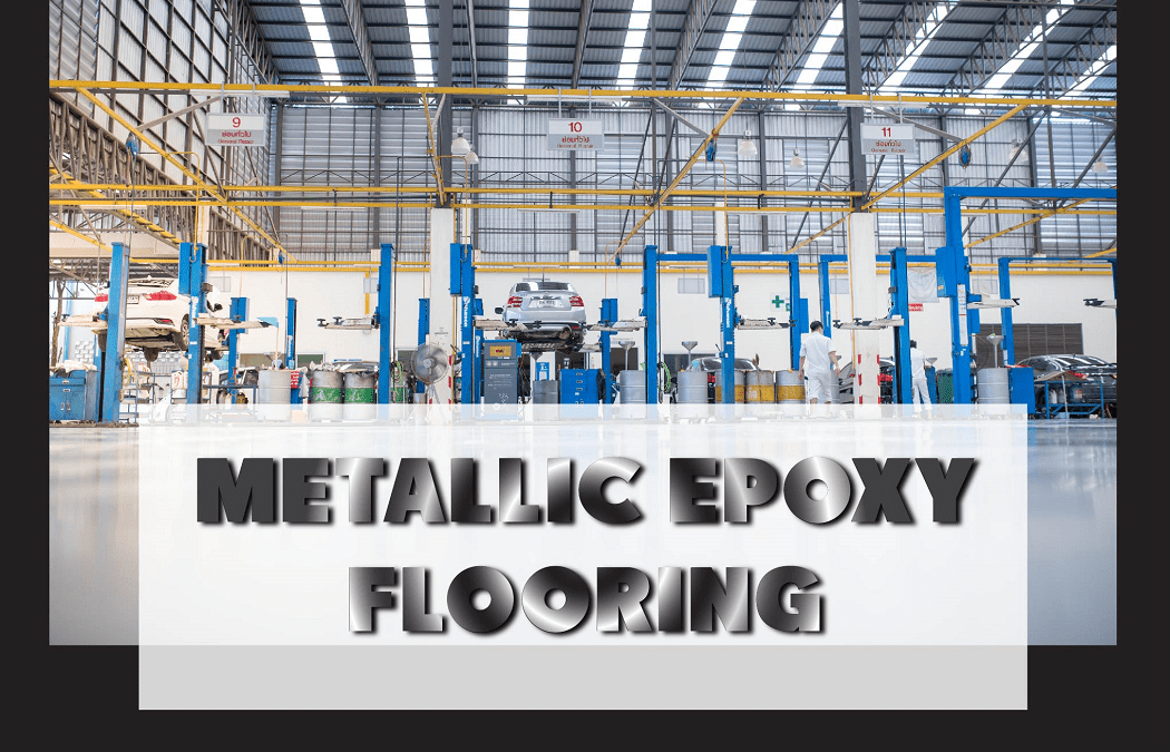 Metallic Eproxy flooring