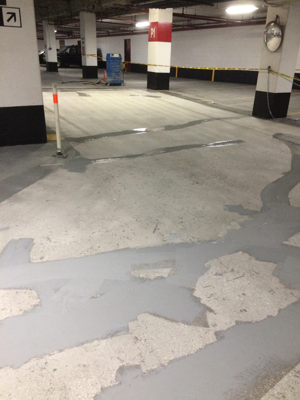 exit ramp traffic diagram bird foot parking garage floor toronto main waterproof