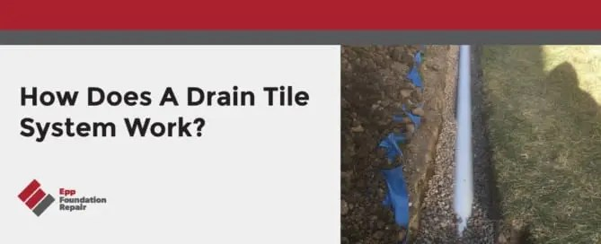 Photo of a drain pipe in a ditch.