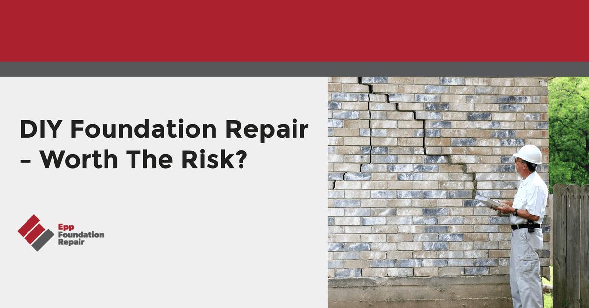 DIY Foundation Repair – Worth The Risk?