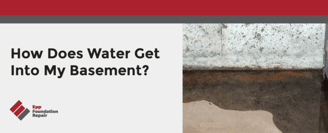 How Does Water Get Into My Basement?