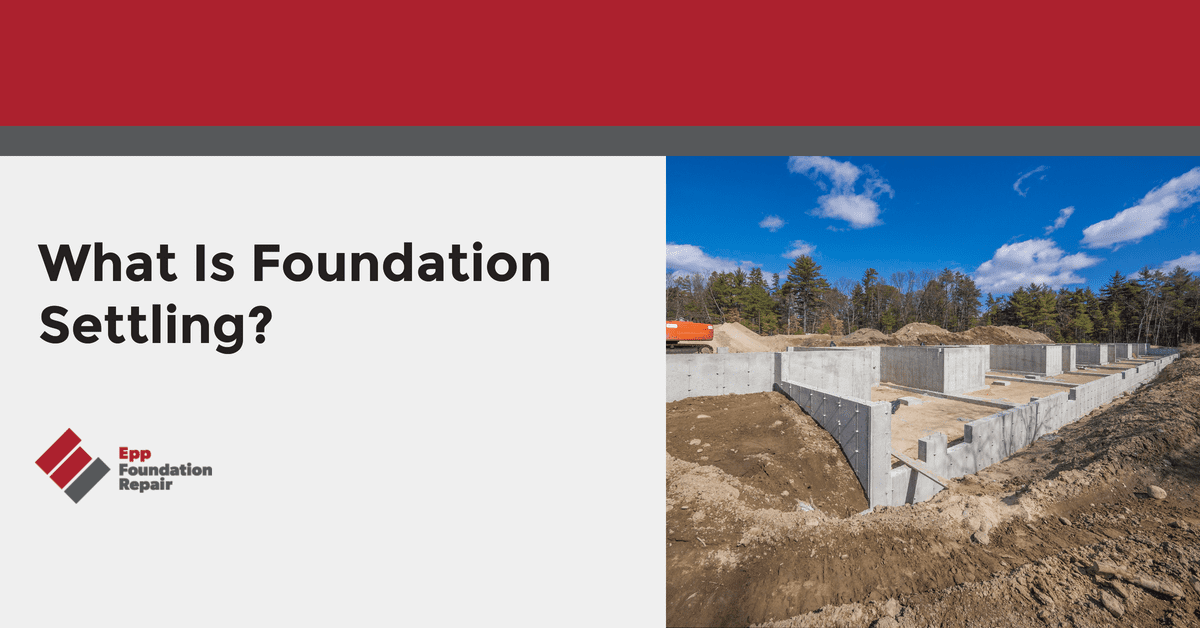 What Is Foundation Settling?