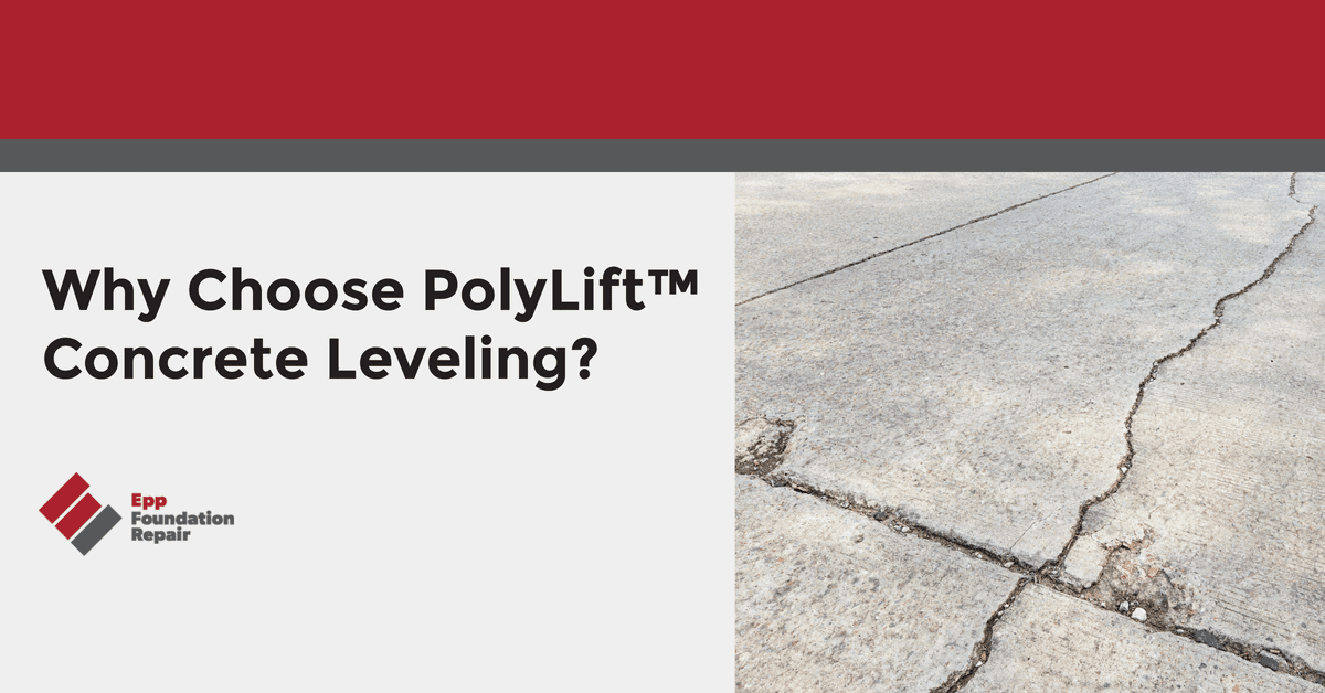 Why Choose PolyLift™ Concrete Leveling?