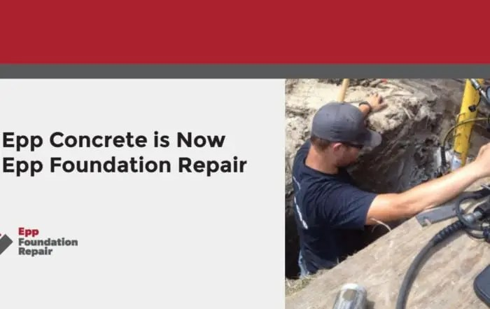 epp concrete is now epp foundation repair