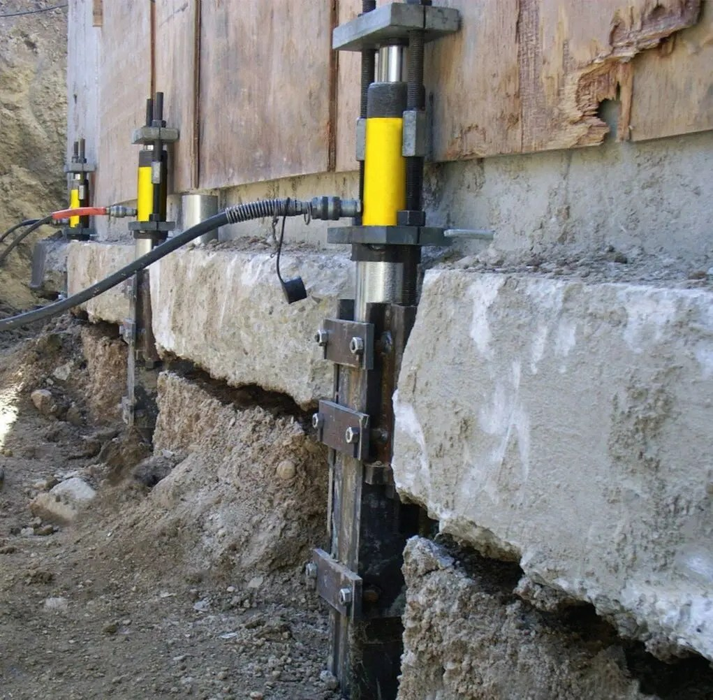 pier for foundation underpinning