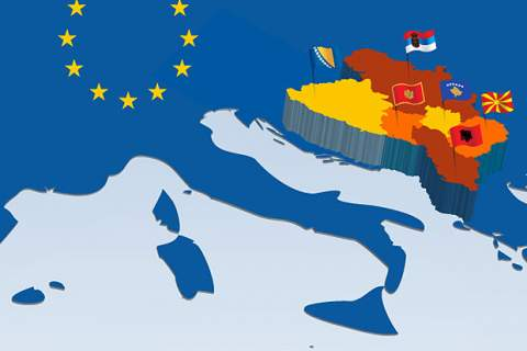 Image result for west Balkans  and EU