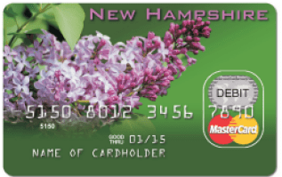 New Hampshire Child Support Card