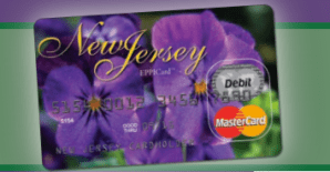 New Jersey Child Support Card