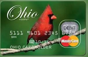 Ohio Child Support Card